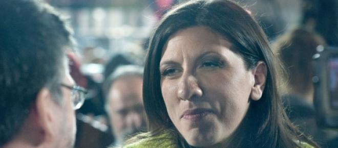 Zoe Konstatopoulou, presidente do Parlamento grego