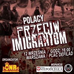 12 września manifestacja w Warszawie