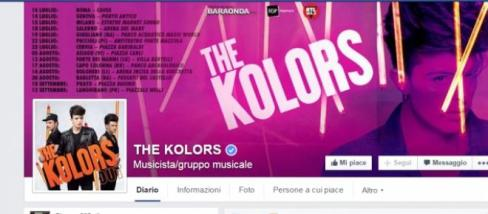 I The Kolors 18 luglio a Salerno