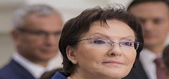 Premier Ewa Kopacz. Fot. Wikipedia