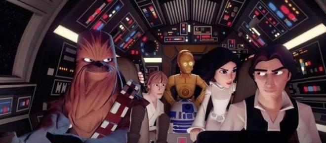 Los personajes de Star Wars en Disney Infinity 3.0
