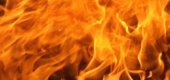 Imagen de llamas de fuego