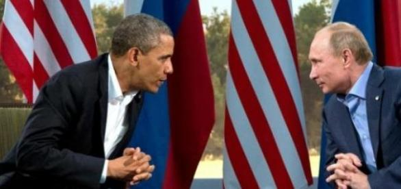 Vladimir Putin și Barrack Obama