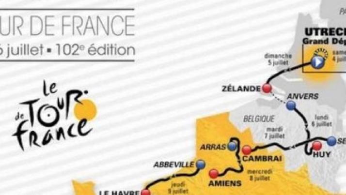 Tour de France: programmazione dal 4 al 26 luglio, informazioni live