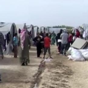 Tabără de refugiaţi kurzi din Suruc - Turcia