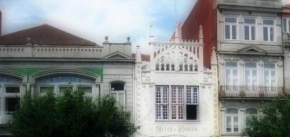 Livraria Lello & Irmão no Porto.