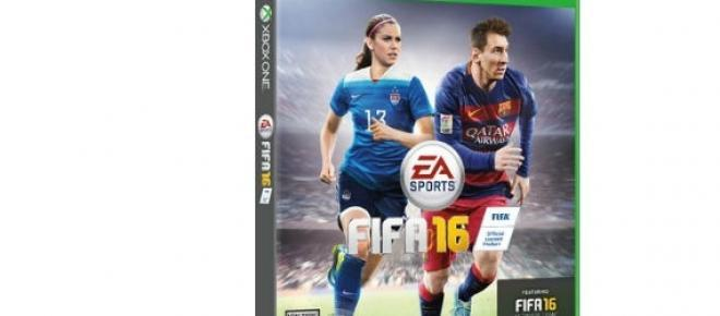Christine Sinclair es portada canadiense FIFA 16