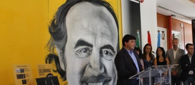 Presentación del cartel homenaje a Pedro Reyes