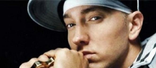 <p>Eminem</p>   <p>Photo credit: Alacoolc via Flickr</p>