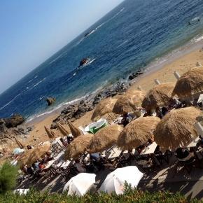 Praia de Gondarém na Foz do Porto, Nevogilde.