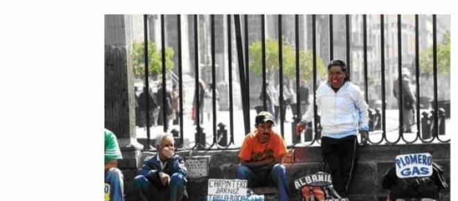 Desempleados en el corazón de nuestra capital