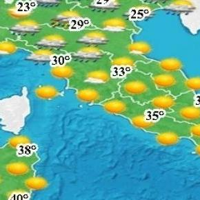 Italia: Vreme diferită în nord față de sud