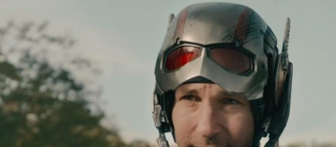 Paul Rudd as title character Ant-Man