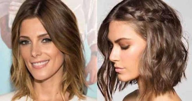 Taglio capelli corti e dritti