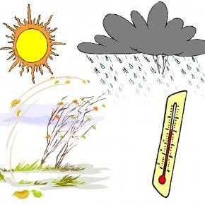 Az időjárás gyakran megvicceli az embert.