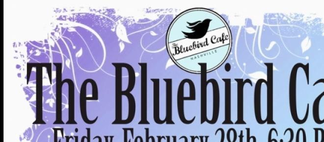 Nashville's iconic venue, the Bluebird Cafe.