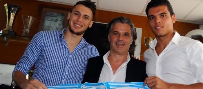 Ocampos et Rekik, dernières recrues en date.