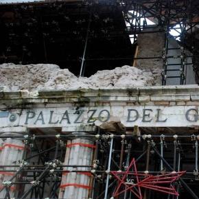 Aquila este încă în reconstrucţie