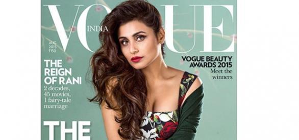 Rani on Vogue cover looks highly photoshopped