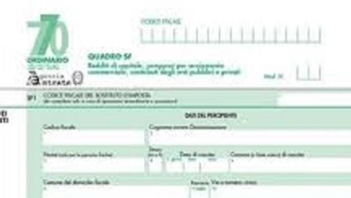 Imposta di registro affitto f24 elide tutti i codici for Scadenza modello 770
