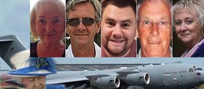 The last five UK bodies from Tunisia beach Islamic State attack return home
