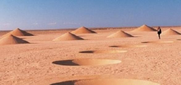 """""""Дыхание пустыни"""". Арт-проект в Египте"""