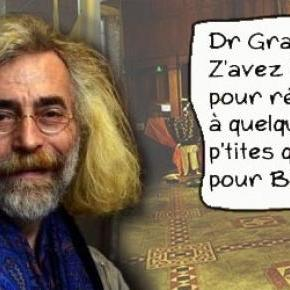 Photomontage illustrant l'interview du Dr Granier.
