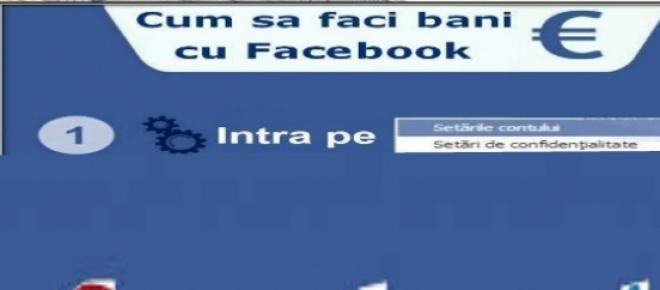 Cei de la Facebook ne vor da bani