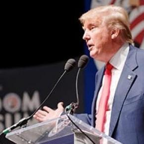 Donald Trump, magnate norteamericano