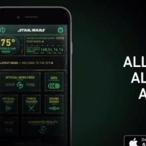A 'Star Wars' app has been released
