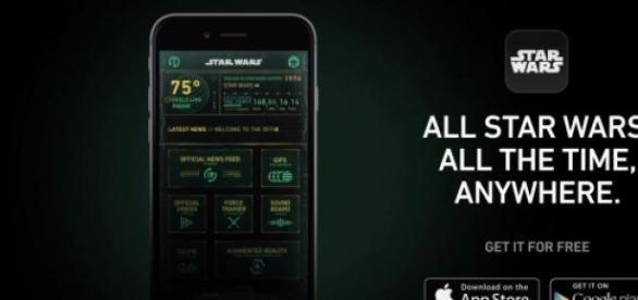A 'Star Wars' app has been released
