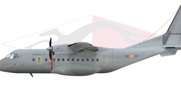 Avion CASA 235 - tipul celui prăbuşit  în Columbia