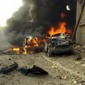 Atac cu maşină capcană în Irak