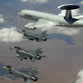 Avioane americane într-un exerciţiu NATO
