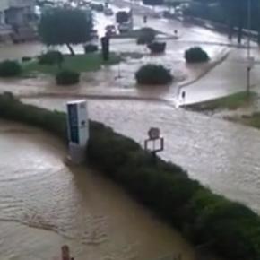 O furtună violentă a măturat sudul Italiei