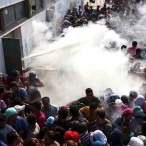 Poliția calmează imigranții de pe insula Kos