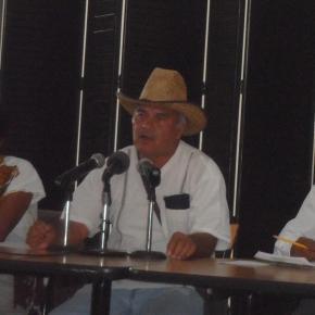 Pronunciamiento Indigena por lso derechos.