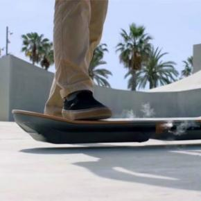 La aerotabla de levitación magnética de Lexus