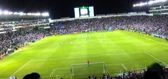 Estadio León, en León, Guanajuato