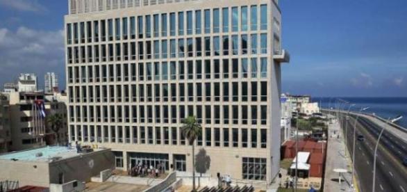 Clădirea Ambasadei SUA din Cuba