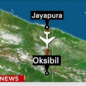 Ruta avionului indonezian prăbuşit