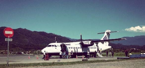Aeroportul Oksibil din regiunea Papua