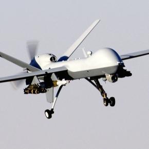 Drona MQ-9 Reaper în misiune de supraveghere