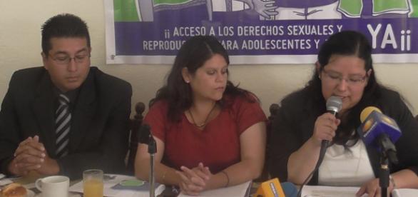 Esperanza Arias Velázquez lider de la Desser.