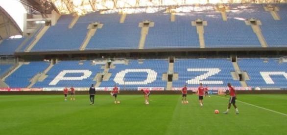 Trening Videotonu przed meczem