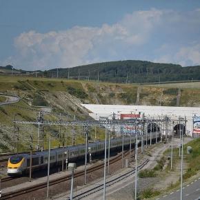 Eurotunelul de sub Canalul Mânecii