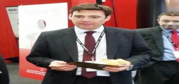 Andy Burnham Candidate for Labour Party Leadership