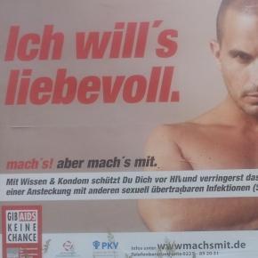 """BzgA-Kampagne """"machs mit – gib Aids keine Chance"""""""