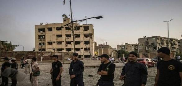 Attentat de l'Etat islamique, au caire