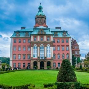 Zamek w Książu, nieopodal Wałbrzycha.